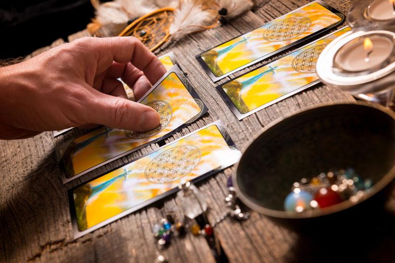 Seeking Guidance via Tarot Cards