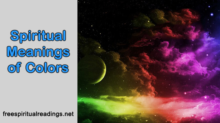 Spiritual Meanings Of Colors