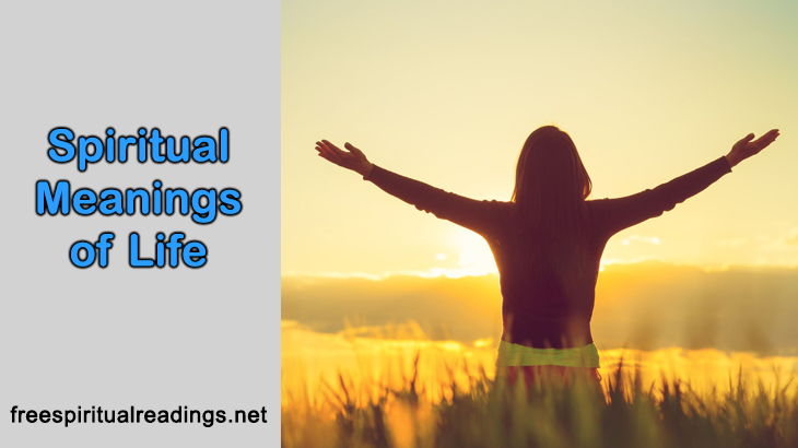 Spiritual Meanings of Life