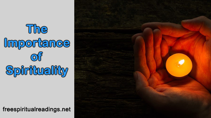 The Importance of Spirituality