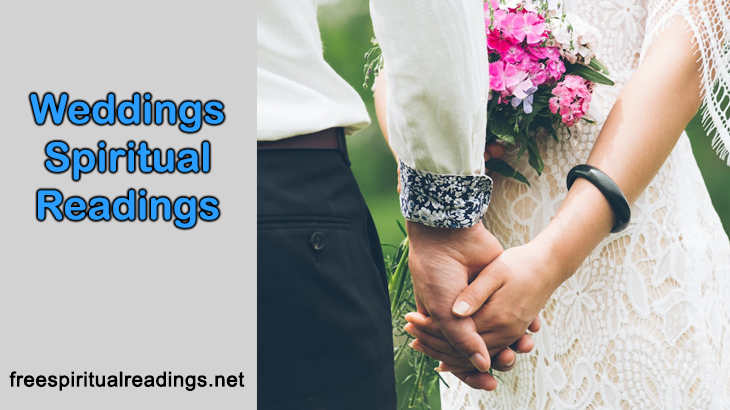 Weddings Spiritual Readings